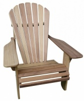 Basic Adirondack Hardwood Chair In Iroko