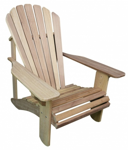 Classic Adirondack Hardwood Chair in Iroko