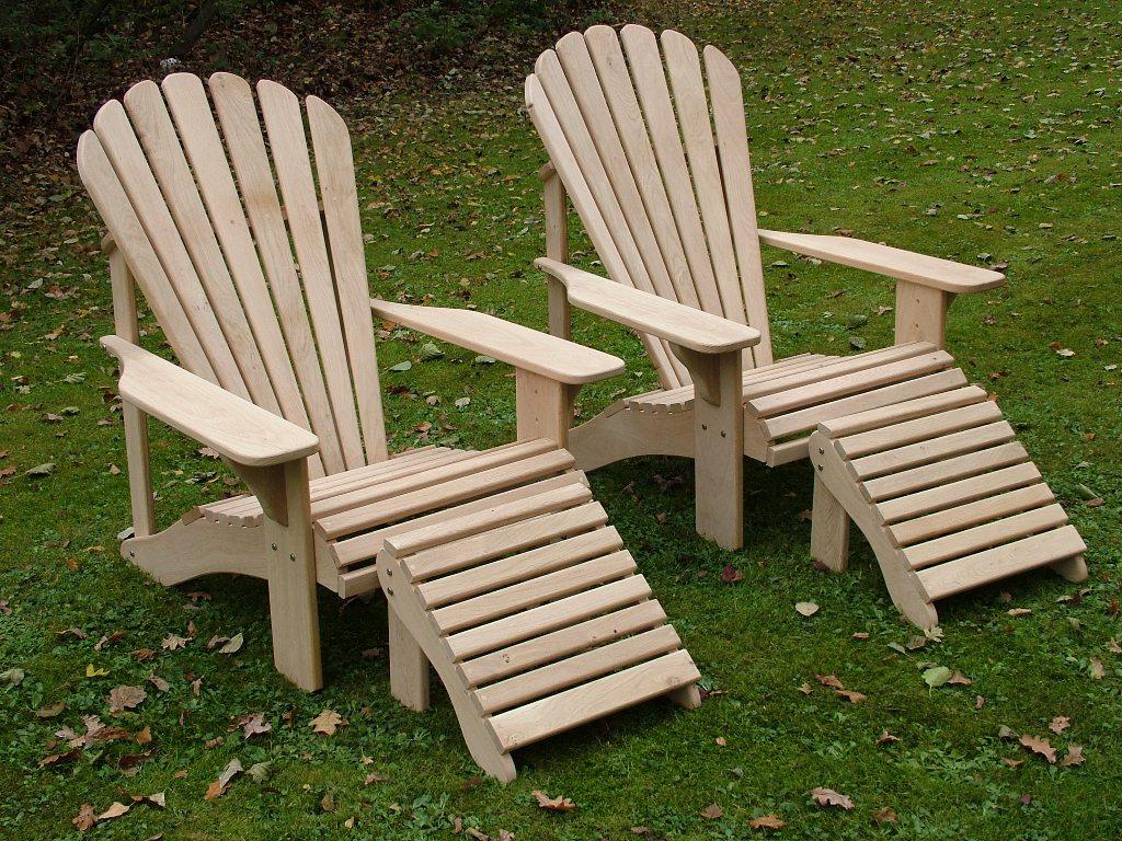 Classic adirondack chair in oak hand made in the uk by adirondack outdoors adirondack co uk