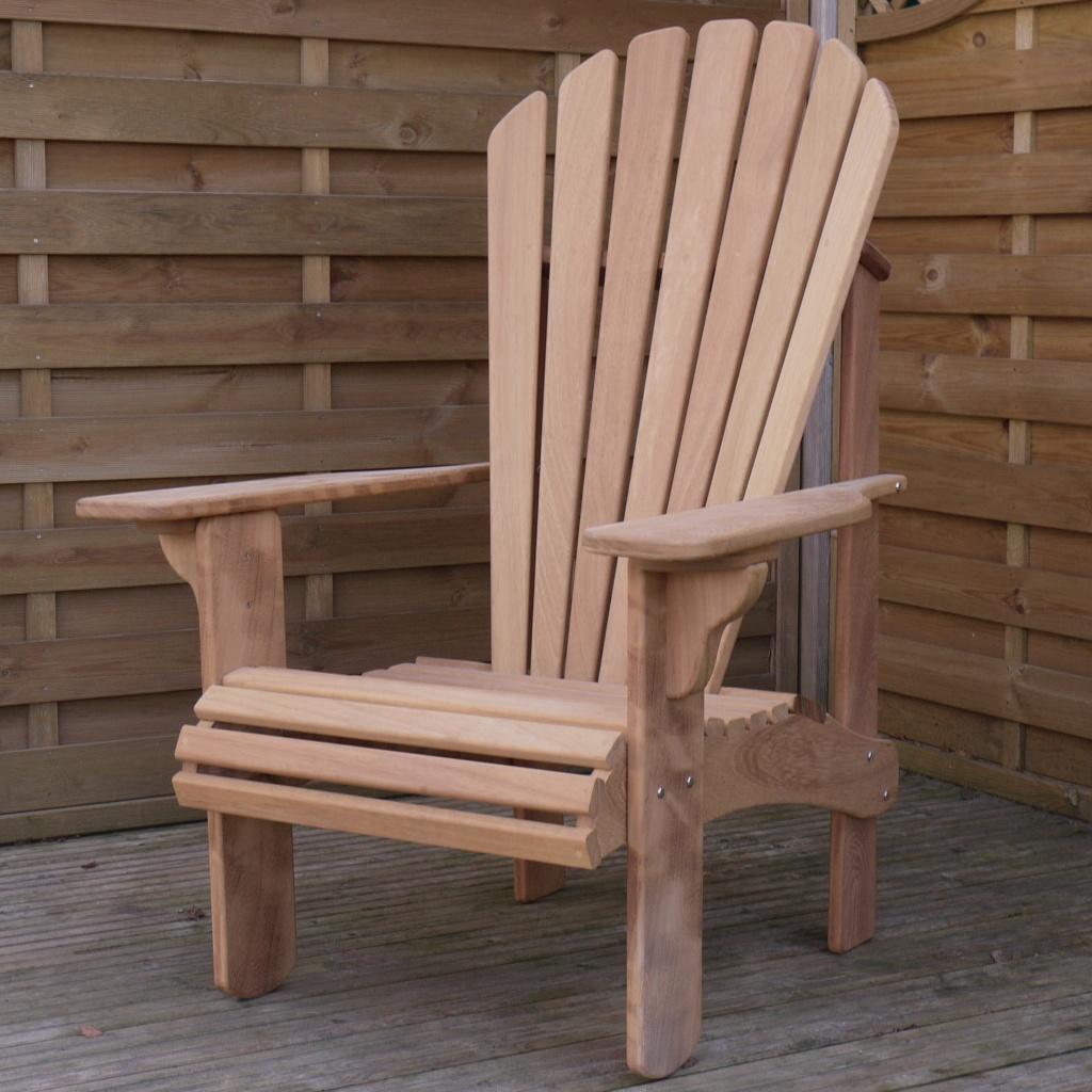 Adirondack Chairs Uk florida adirondack chair in oak - hand made in the uk
