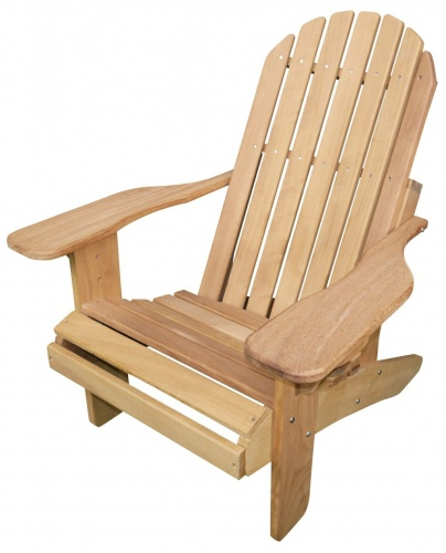 Muskoka Hardwood Chair in Iroko