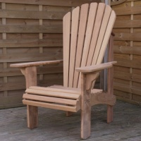 Florida Adirondack Chair in European Oak
